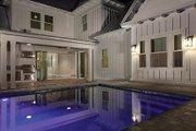 Farmhouse Style House Plan - 4 Beds 3.5 Baths 3186 Sq/Ft Plan #1058-73 Exterior - Rear Elevation