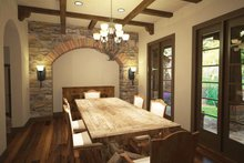Cottage Interior - Dining Room Plan #120-244