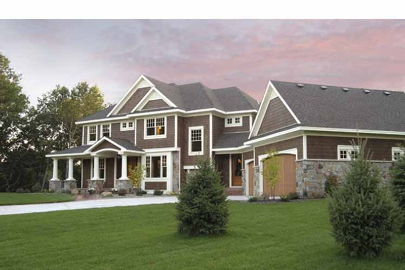 Country Exterior - Front Elevation Plan #51-1121 - Houseplans.com