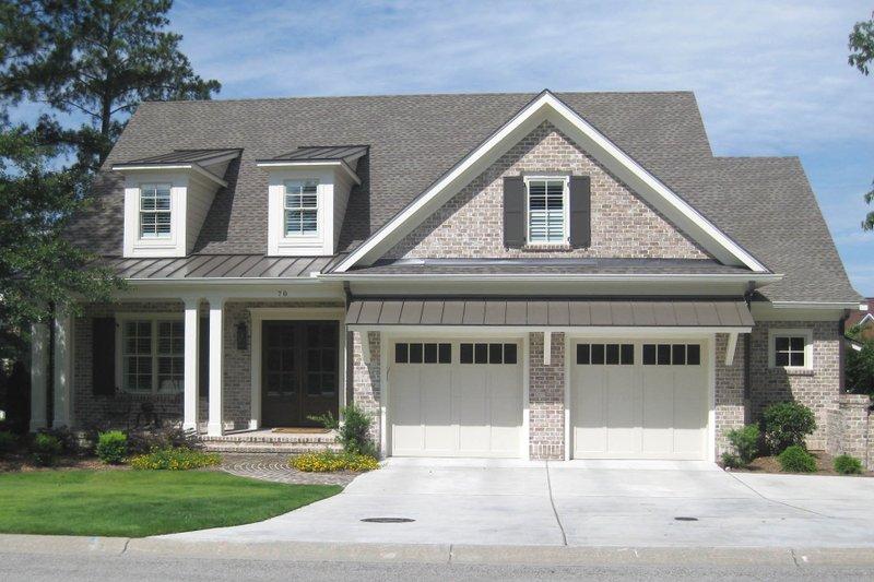 Home Plan - Craftsman Exterior - Front Elevation Plan #1054-38
