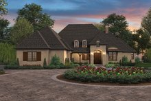 Country Exterior - Front Elevation Plan #48-898