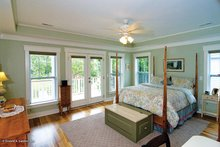 Architectural House Design - Country Interior - Master Bedroom Plan #929-518