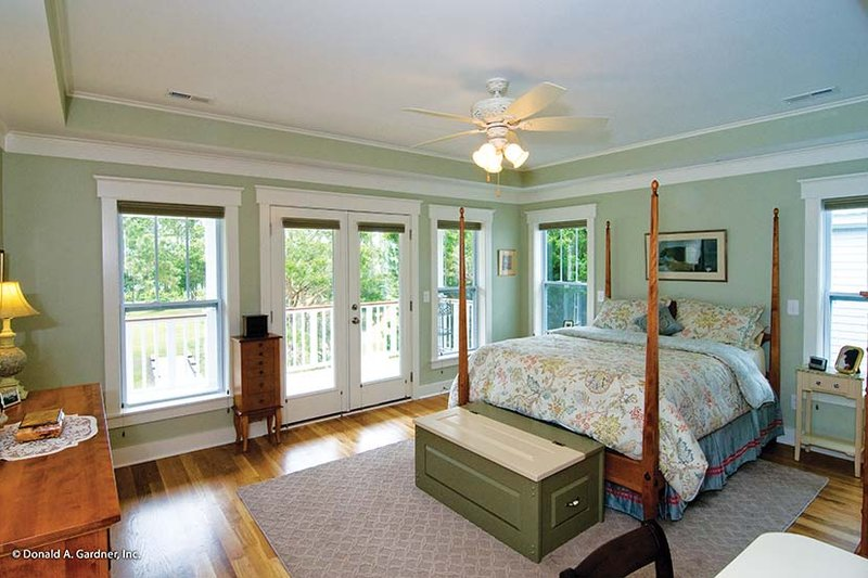 Country Interior - Master Bedroom Plan #929-518 - Houseplans.com