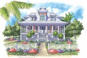 Country Style House Plan - 3 Beds 3.5 Baths 3285 Sq/Ft Plan #930-142 Exterior - Front Elevation