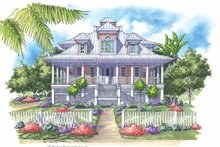 Country Exterior - Front Elevation Plan #930-142