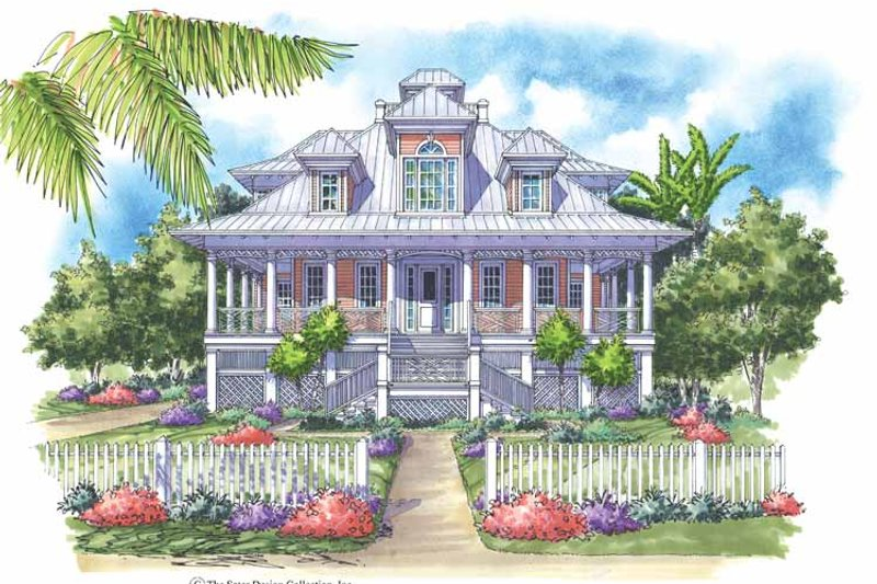 Country Exterior - Front Elevation Plan #930-142 - Houseplans.com
