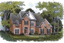 House Plan Design - Traditional Exterior - Front Elevation Plan #453-139
