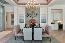 Mediterranean Interior - Dining Room Plan #1017-156