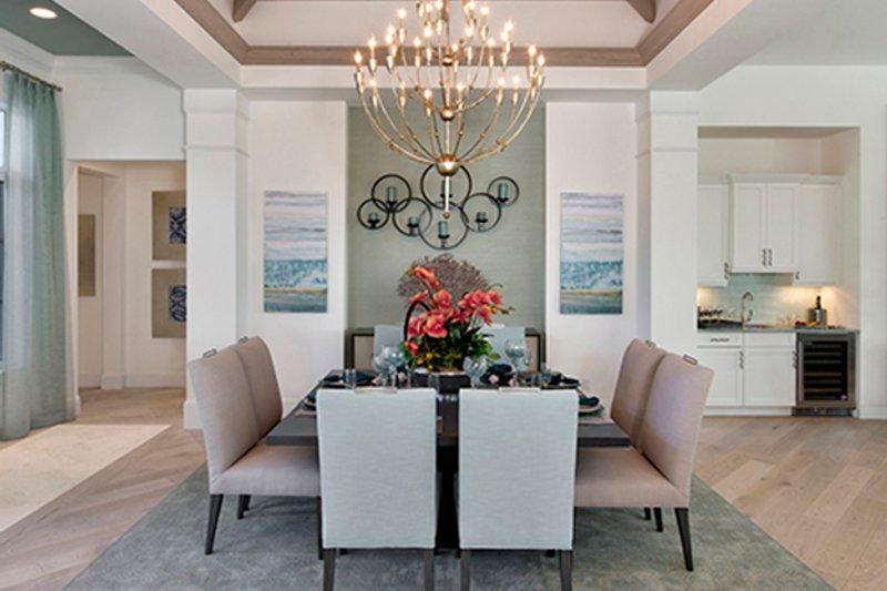 Mediterranean Interior - Dining Room Plan #1017-156 - Houseplans.com
