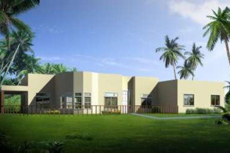 Adobe / Southwestern Style House Plan - 4 Beds 2.5 Baths 2818 Sq/Ft Plan #1-693