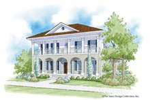 House Plan Design - Southern Exterior - Front Elevation Plan #930-401