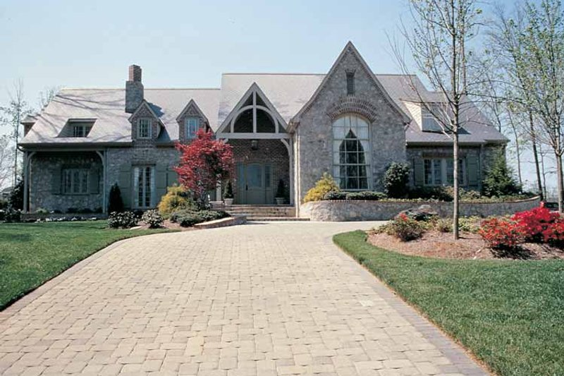 Dream House Plan - Country Exterior - Front Elevation Plan #453-241
