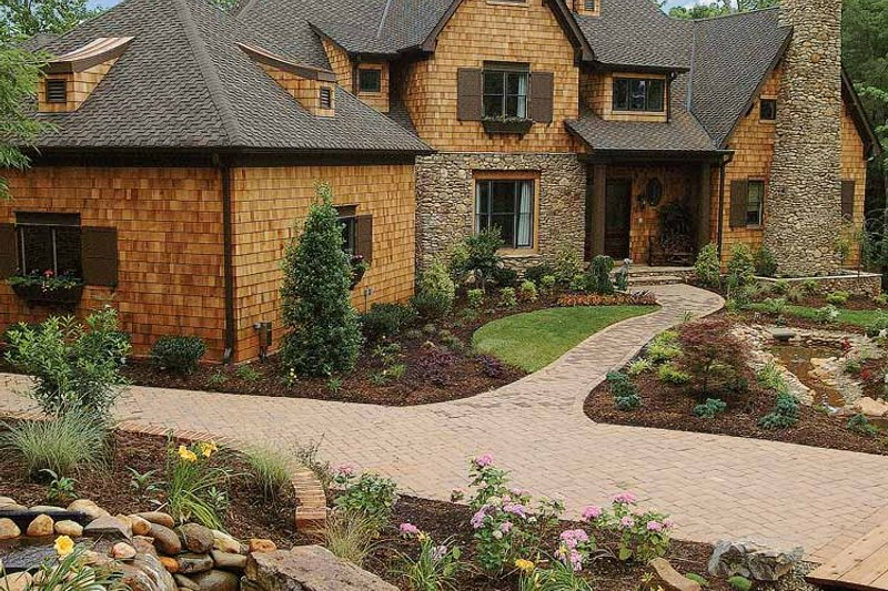 Country Exterior - Front Elevation Plan #453-403 - Houseplans.com