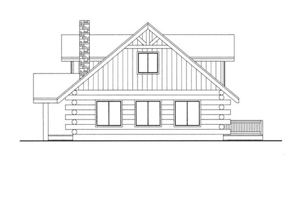 House Design - Log Floor Plan - Other Floor Plan #117-824