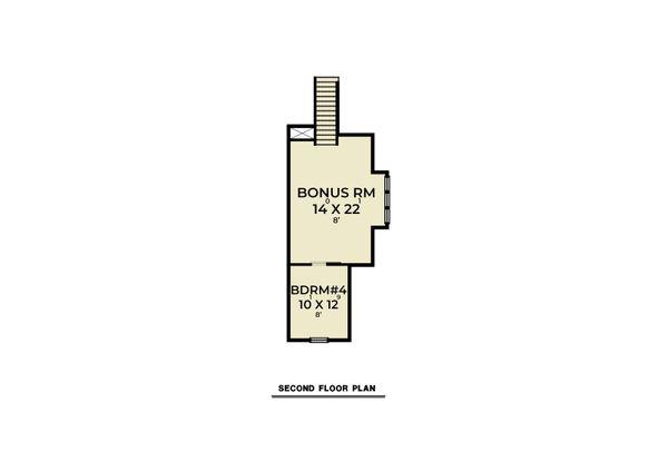 Home Plan - Farmhouse Floor Plan - Upper Floor Plan #1070-129