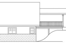 Traditional Exterior - Other Elevation Plan #124-639