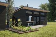 Modern Style House Plan - 1 Beds 1 Baths 550 Sq/Ft Plan #933-12