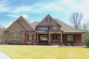 European Style House Plan - 3 Beds 2 Baths 2842 Sq/Ft Plan #437-62 Exterior - Front Elevation