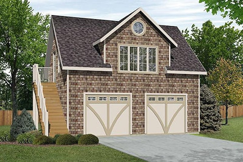 Dream House Plan - Country Exterior - Front Elevation Plan #22-546