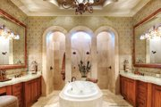 Mediterranean Style House Plan - 4 Beds 4.5 Baths 3790 Sq/Ft Plan #930-13 Interior - Master Bathroom