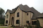 European Style House Plan - 3 Beds 4.5 Baths 4380 Sq/Ft Plan #17-2506 Exterior - Front Elevation