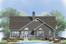 Country Exterior - Rear Elevation Plan #929-554