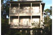 Beach Style House Plan - 4 Beds 3 Baths 2518 Sq/Ft Plan #443-7