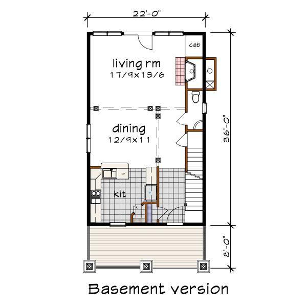 Craftsman Floor Plan - Other Floor Plan #79-315