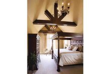 Dream House Plan - European Interior - Master Bedroom Plan #927-18