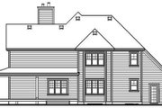 Farmhouse Style House Plan - 3 Beds 2.5 Baths 2687 Sq/Ft Plan #23-519 Exterior - Rear Elevation