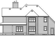 Farmhouse Exterior - Rear Elevation Plan #23-519