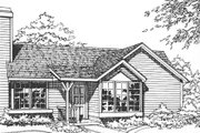 Ranch Style House Plan - 2 Beds 2 Baths 1016 Sq/Ft Plan #320-325