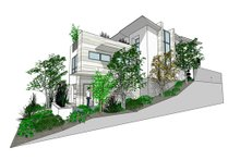 Dream House Plan - Modern Exterior - Other Elevation Plan #484-1