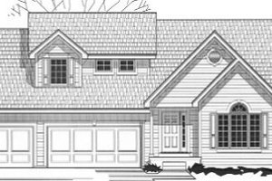 Traditional Exterior - Front Elevation Plan #67-152