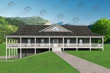 Dream House Plan - Country Exterior - Other Elevation Plan #932-175
