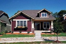 Craftsman Exterior - Front Elevation Plan #51-345