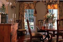 Dream House Plan - Dining Room - 3100 square foot Southern home