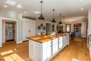 Country Style House Plan - 5 Beds 4.5 Baths 4724 Sq/Ft Plan #70-1488 Interior - Kitchen