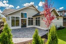 House Plan Design - Ranch Exterior - Rear Elevation Plan #895-90