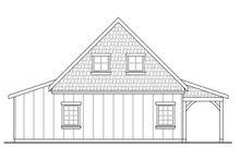 Home Plan - Craftsman Exterior - Rear Elevation Plan #124-933