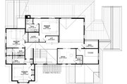 Craftsman Style House Plan - 4 Beds 6.5 Baths 4491 Sq/Ft Plan #928-321 Floor Plan - Upper Floor