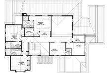 Craftsman Floor Plan - Upper Floor Plan Plan #928-321