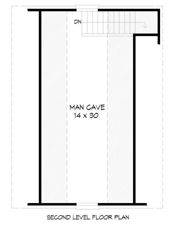 Country Floor Plan - Upper Floor Plan Plan #932-283
