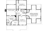 Craftsman Style House Plan - 4 Beds 2.5 Baths 2332 Sq/Ft Plan #453-7
