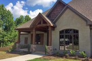 European Style House Plan - 3 Beds 3.5 Baths 2340 Sq/Ft Plan #17-2496 Exterior - Front Elevation