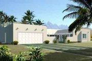 Adobe / Southwestern Style House Plan - 3 Beds 2 Baths 1874 Sq/Ft Plan #1-1364