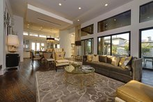 Contemporary Interior - Family Room Plan #935-5
