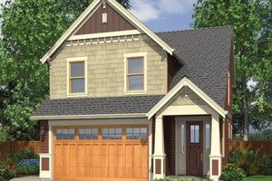 Craftsman Exterior - Front Elevation Plan #48-436