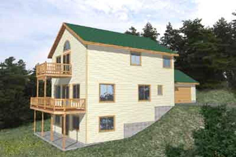 Modern Exterior - Front Elevation Plan #117-284