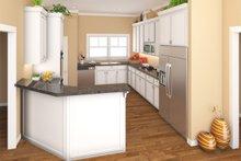 Craftsman Interior - Kitchen Plan #21-330